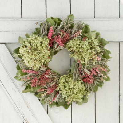 Hydrangea & Sage Wreath