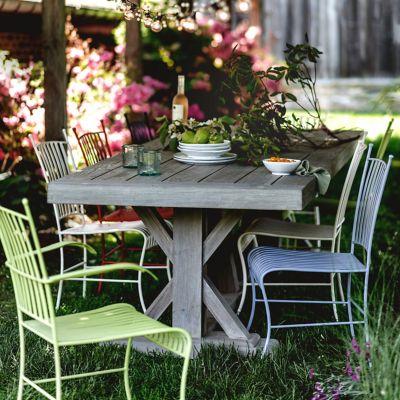 Trestle Teak Dining Table