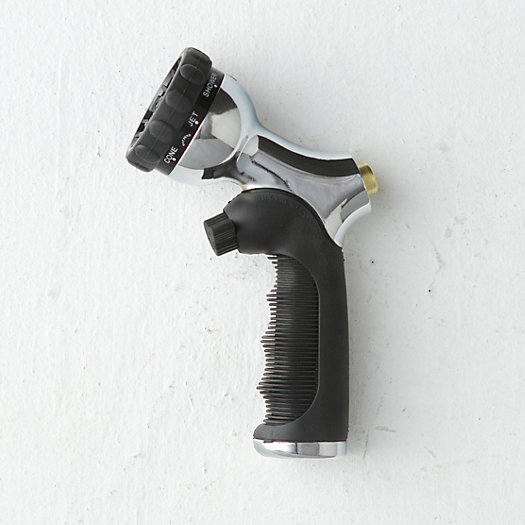 View larger image of Push Button Chrome Nozzle