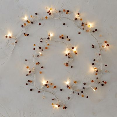 Beaded Light Garland