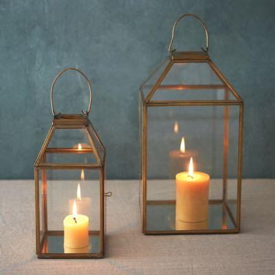 Brass Frame Lantern