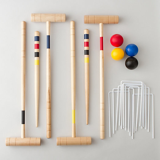 View larger image of Backyard Croquet Set