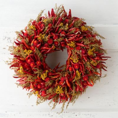 Pepper Patch Wreath