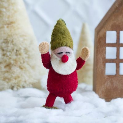 Woolen Gnome Ornament