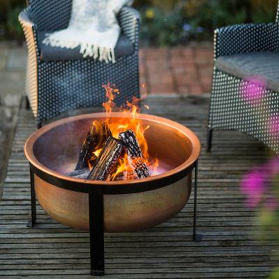 Copper Table Fire Pit