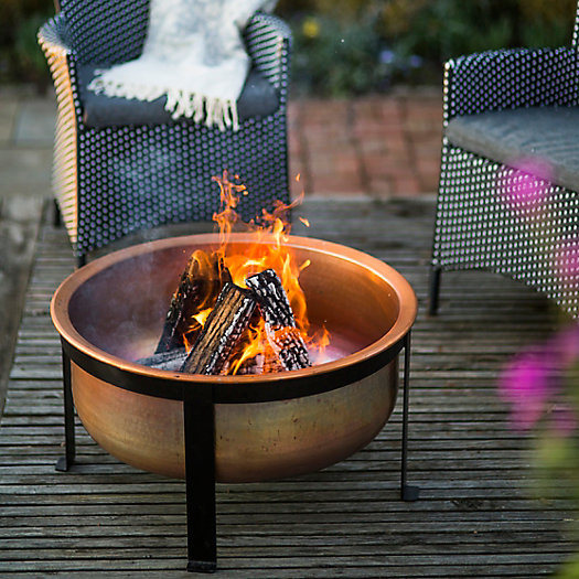 View larger image of Copper Table Fire Pit