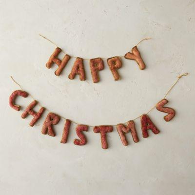 Velvet Christmas Garland