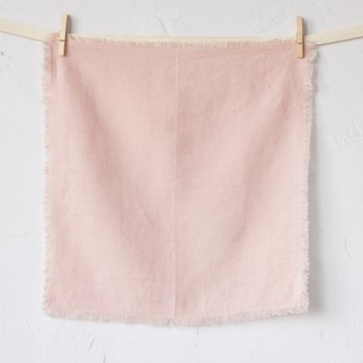 Cut Edge Washed Linen Napkin