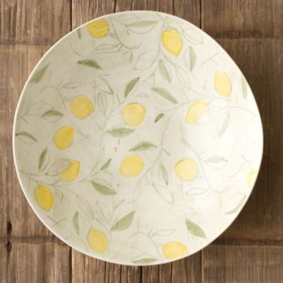 Lemon Tree Serving Bowl