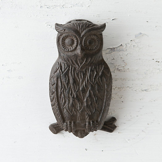 View larger image of Owl Door Knocker