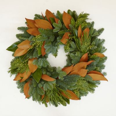 Incense Cedar & Magnolia Wreath