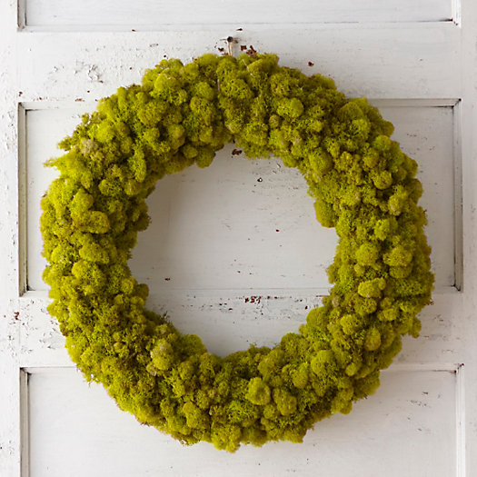 View larger image of Reindeer Moss Wreath