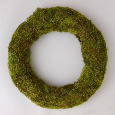 Preserved Clump Moss Wreath