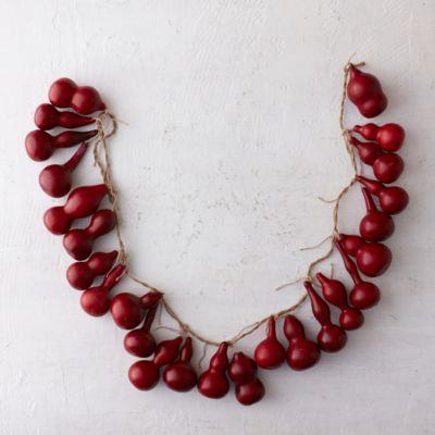 Crimson Gourd Garland