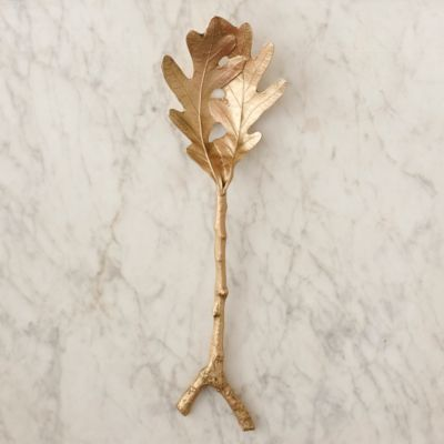 Oak Leaf Serving Spoon
