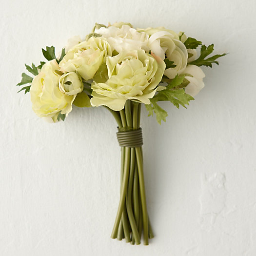 View larger image of Silk Ranunculus Bouquet