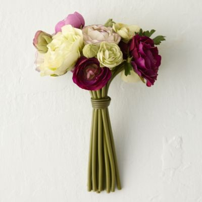 Silk Ranunculus Bouquet