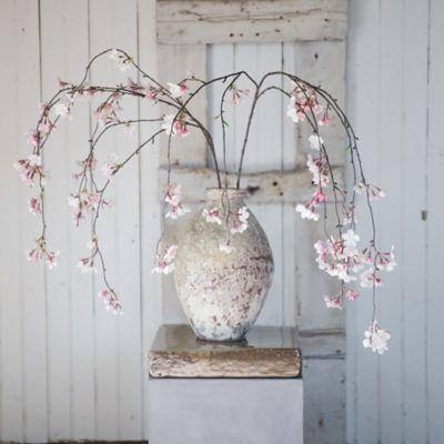 Silk Cherry Blossom Spray