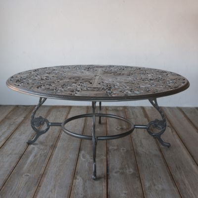 Gertrude Jekyll Round Dining Table, 6'