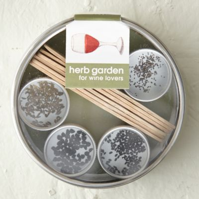 Wine Lover's Herb Garden Kit