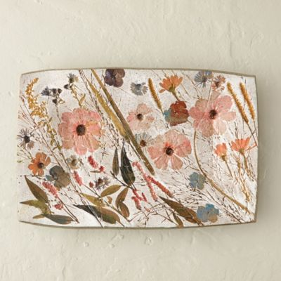 Wildflower Series Rectangle Platter