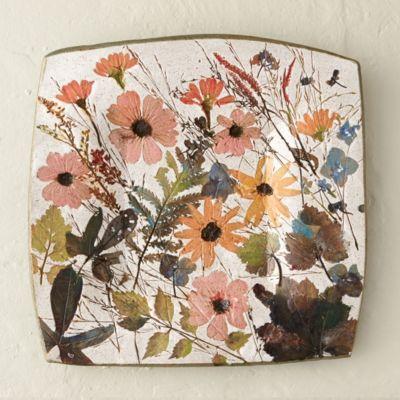 Wildflower Series Square Platter