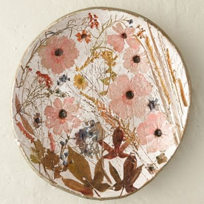 Wildflower Series Round Platter, Large