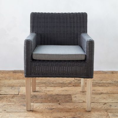Ridgeline Wicker + Teak Armchair