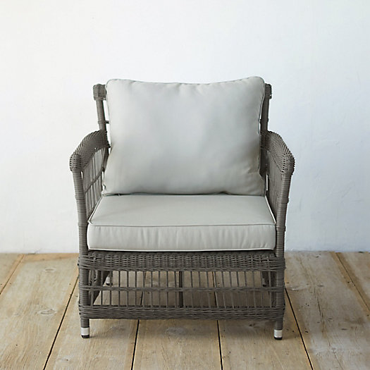 View larger image of Trellis Weave All Weather Wicker Chair
