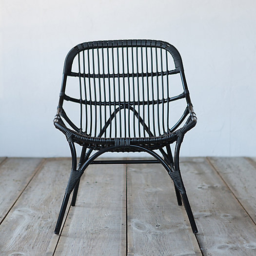 View larger image of Open Weave All Weather Wicker Chair