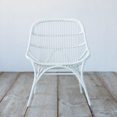 Open Weave All Weather Wicker Chair