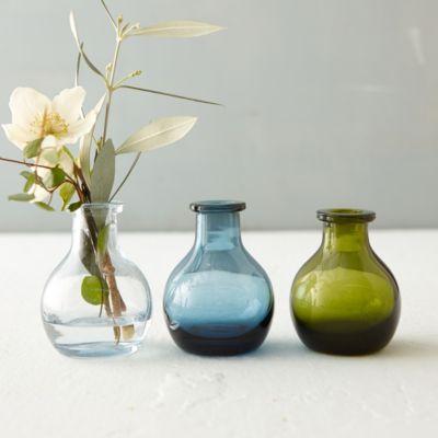 Inkwell Bud Vase, Circle