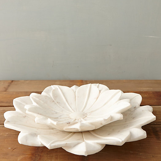 View larger image of Marble Lotus Bowl