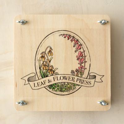 Portable Plant Press