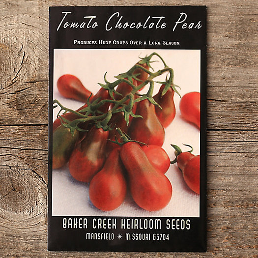 View larger image of Chocolate Pear Tomato Seeds