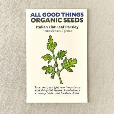 Organic Flat Leaf Italian Parsley
