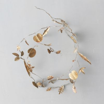 Metallic Leaves Garland