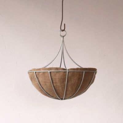 Zinc Chandelier Hanging Basket