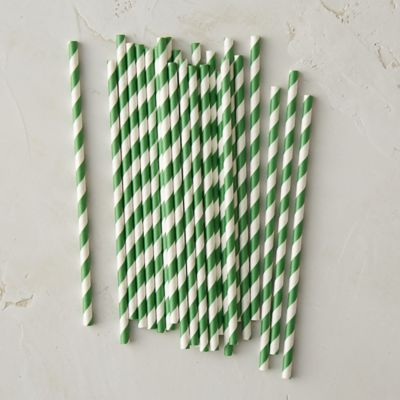 Striped Soda Straws