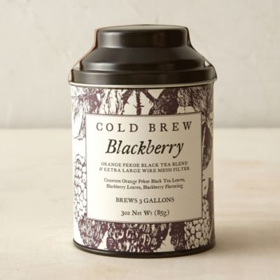 Blackberry Cold Brew Tea