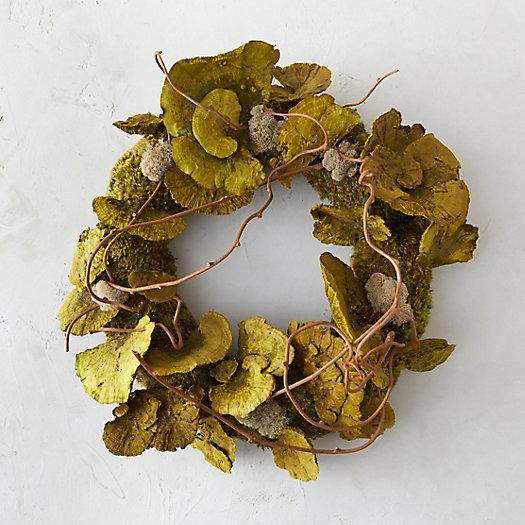 View larger image of Shelf Mushroom & Moss Wreath