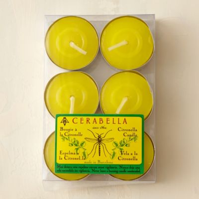Classic Citronella Tea Lights