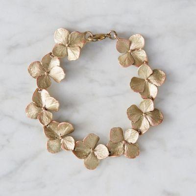 Hydrangea Petal Bracelet