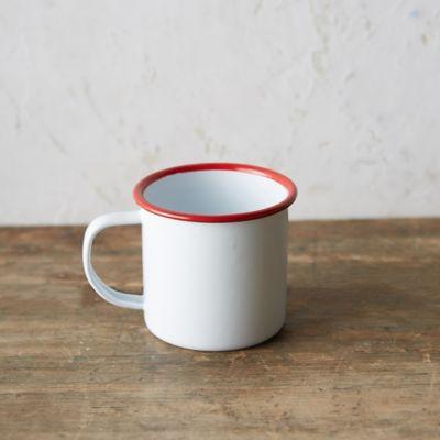 Stripe Enamel Mug