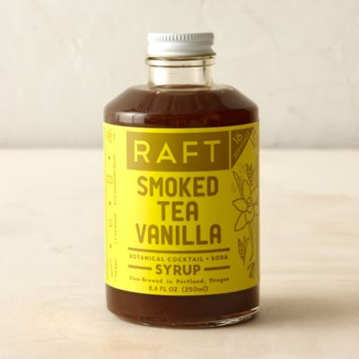 Smoked Tea Vanilla Cocktail Syrup