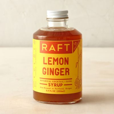 Lemon Ginger Cocktail Syrup