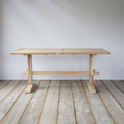 Protected Teak Keyed Counter Table