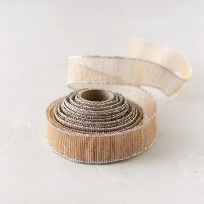 Jute Sparkle Ribbon