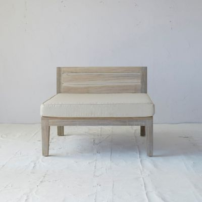 Slatted Teak Outdoor Chair Cushion