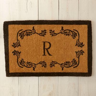 Floral Border Doormat